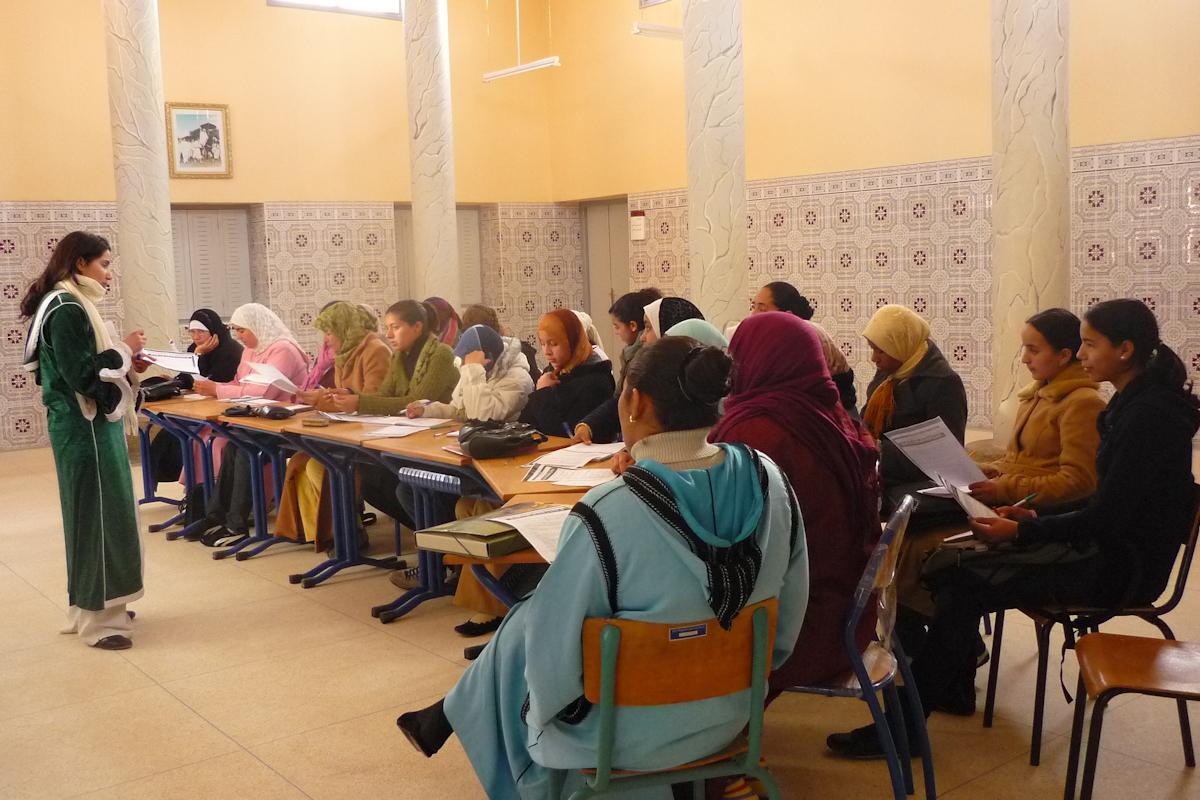Mejora de las condiciones de vida de las mujeres Oasis Figuig