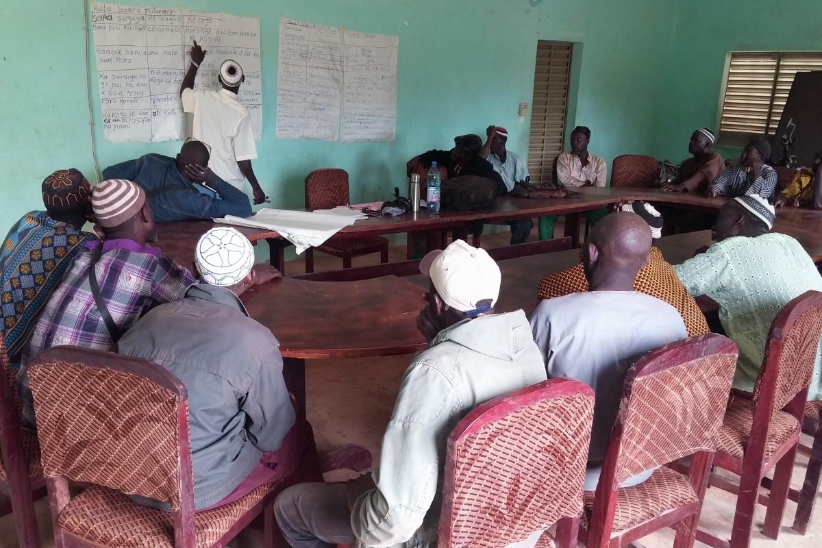 Mejora condiciones venta produccion campesina Kadiolo Mali
