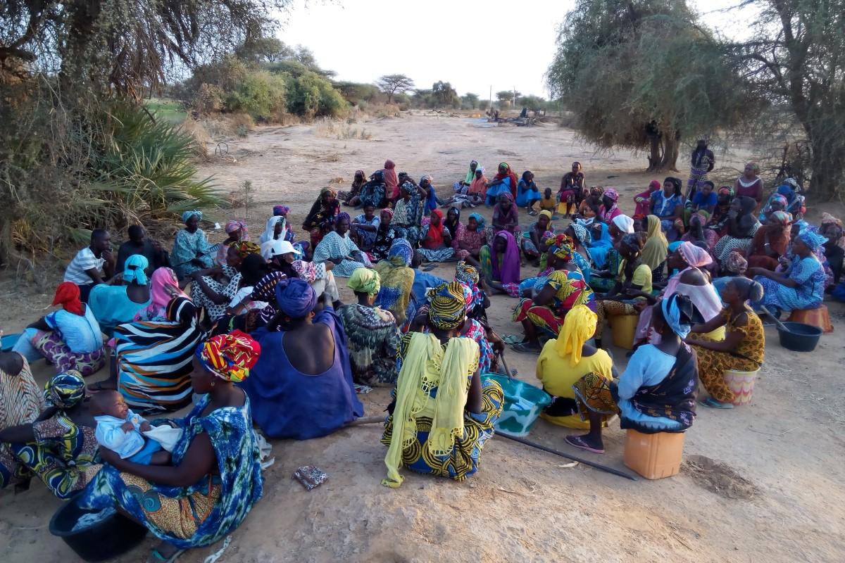 Acompanamiento a cooperativas agricolas femeninas del valle del rio Senegal