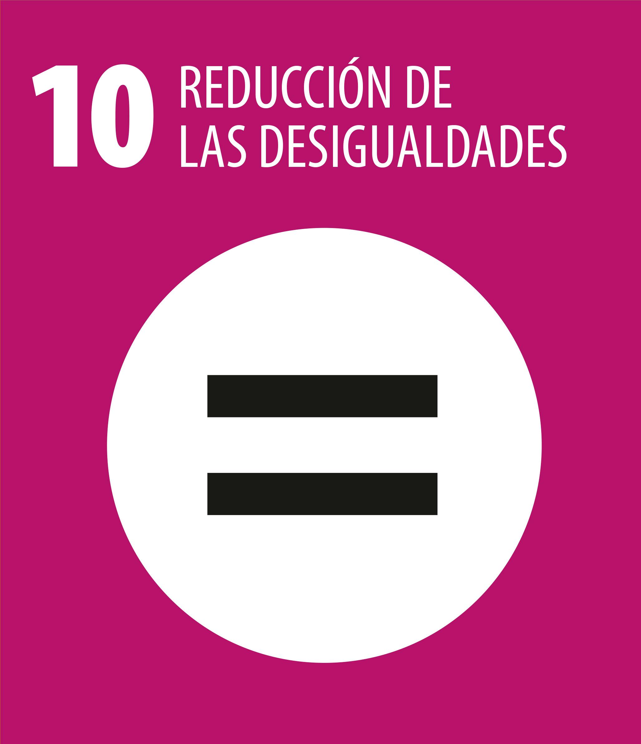 ODS 10 Reduccion desigualdades