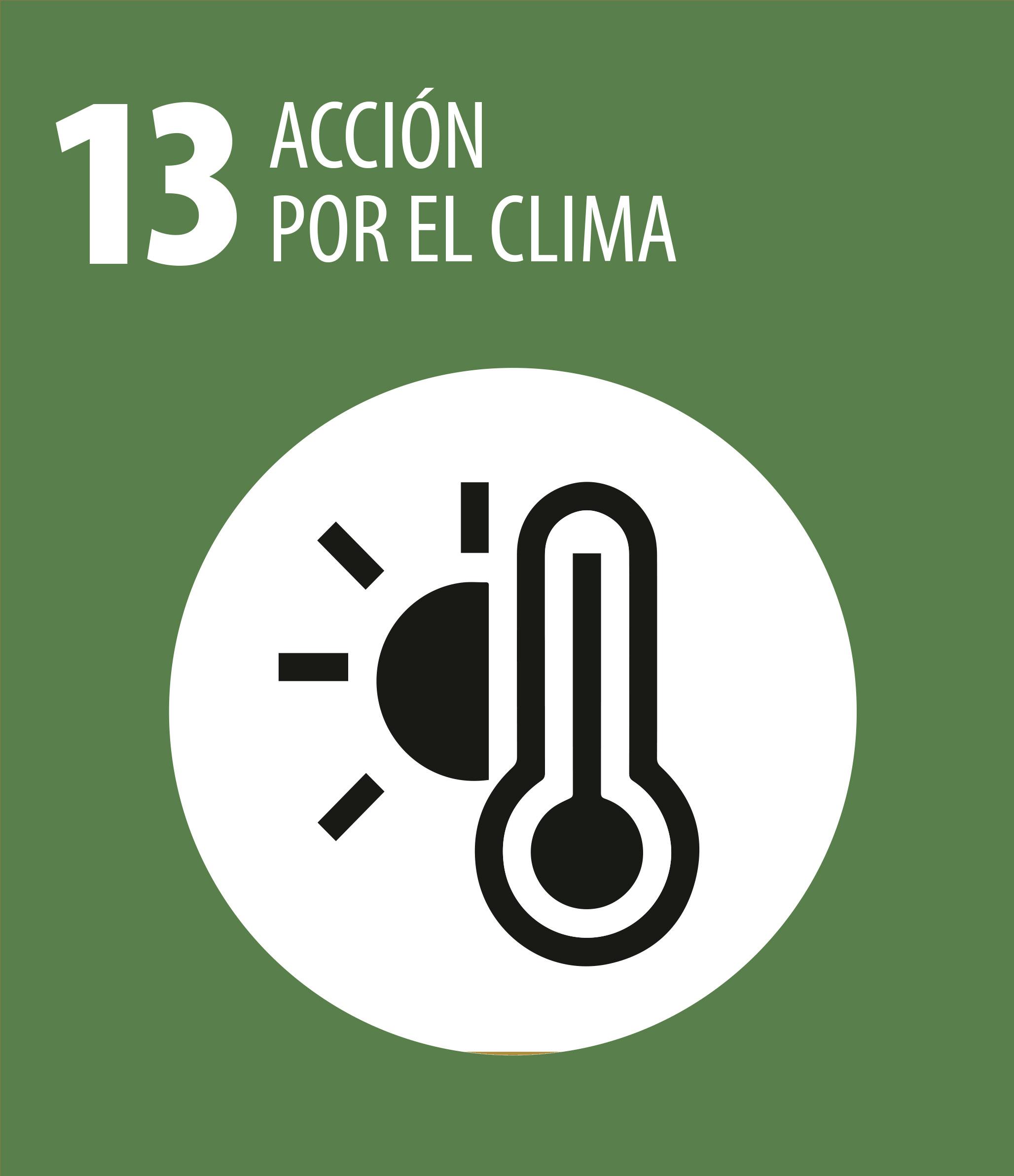 ODS 13 Accion por el clima