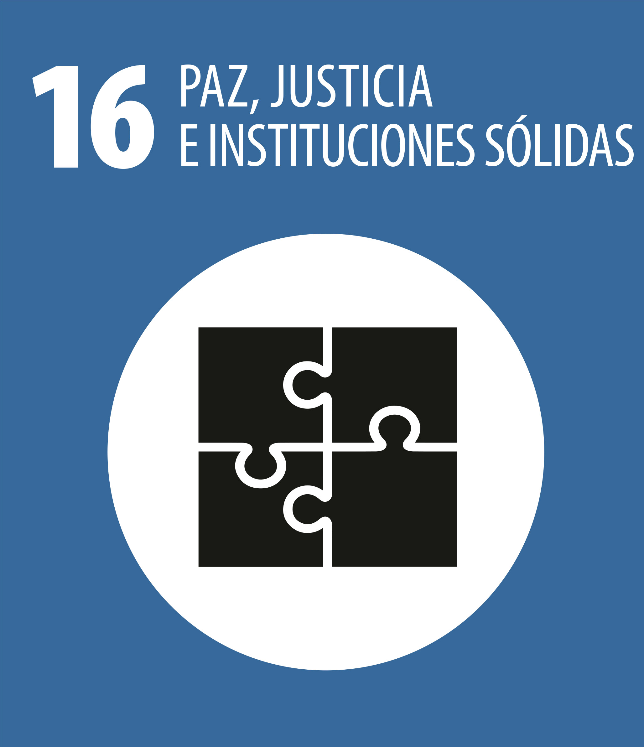 ODS 16 Paz justicia instituciones solidas