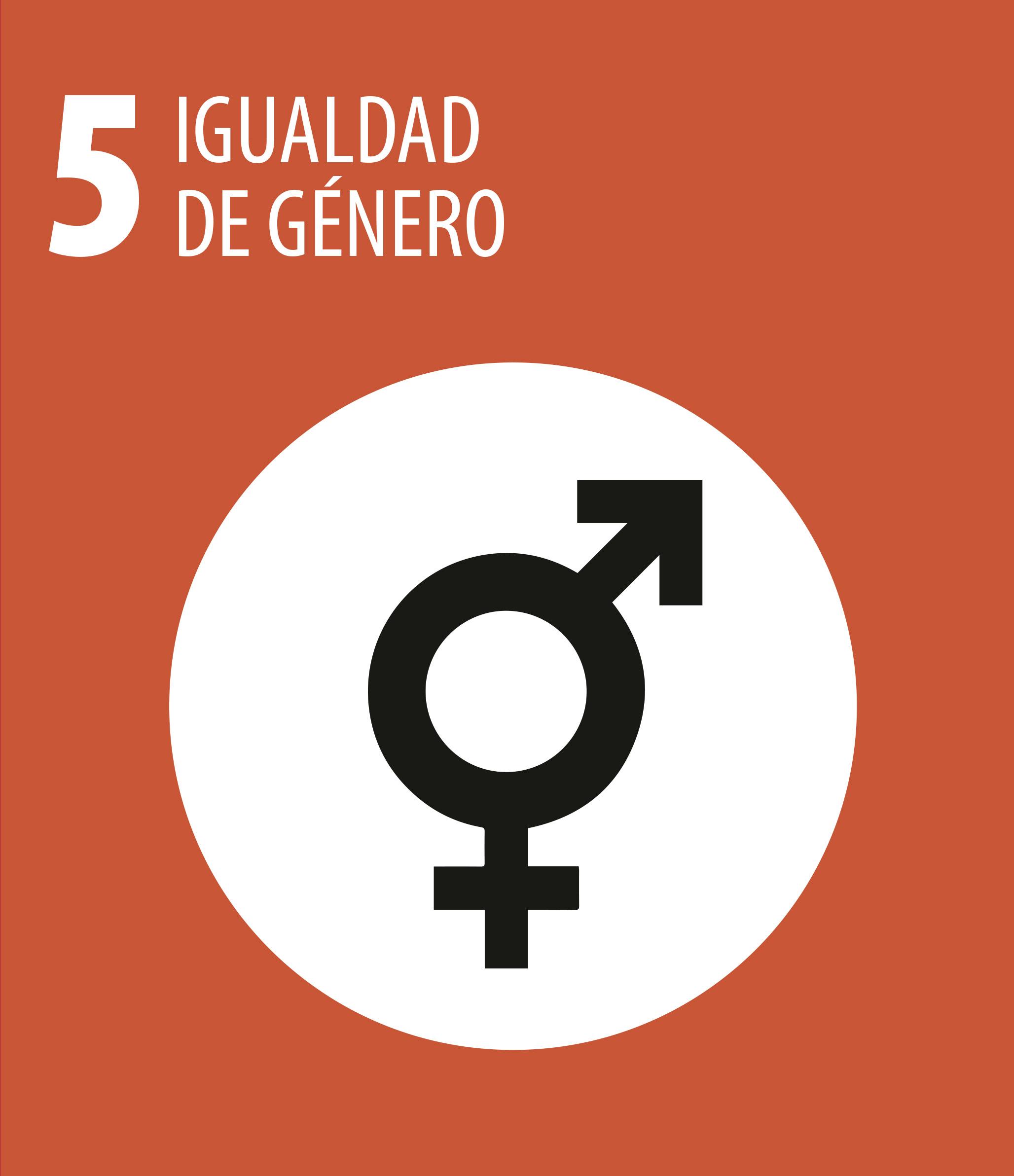 ODS 5 Igualdad genero